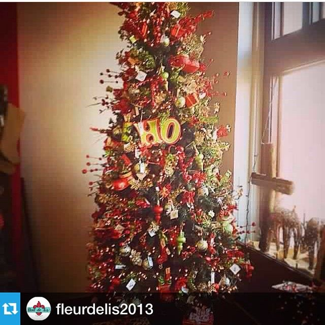 fleurdelis2013---Getting ready for Christmas Open House this Sunday