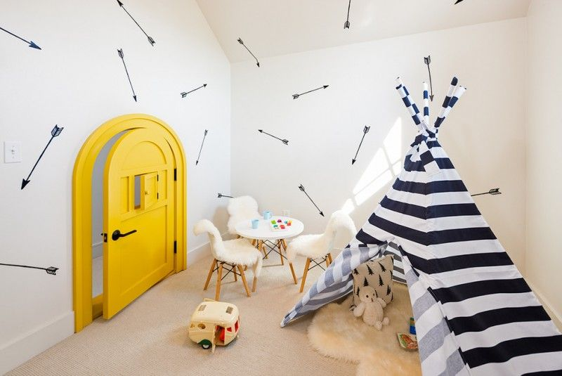 Tens Of Inspiring Wall Paint Ideas In Kids Room Scandinavian