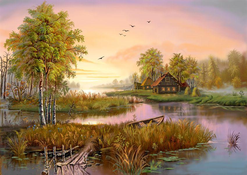 Пейзаж классик, картины, подарок | Картины с видами ...