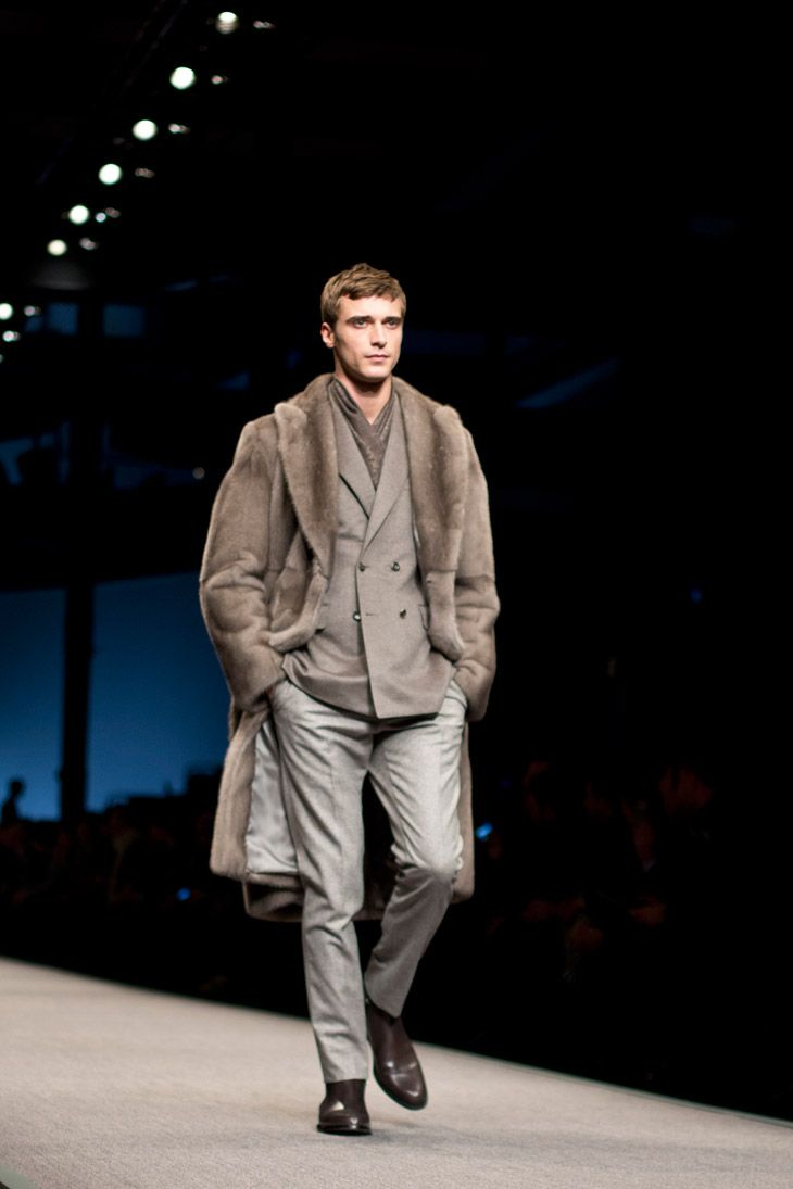 Clement Chabernaud for Canali Fall Winter 2014 Menswear
