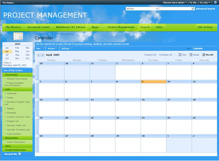 10 New SharePoint Site Themes Available! - SharePoint Blank