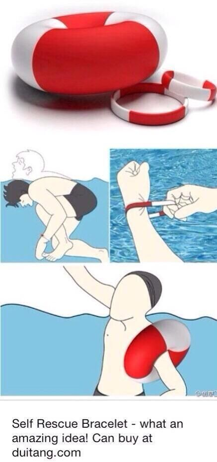 Life saving bracelet Amazing! A must have got every beach bag!
