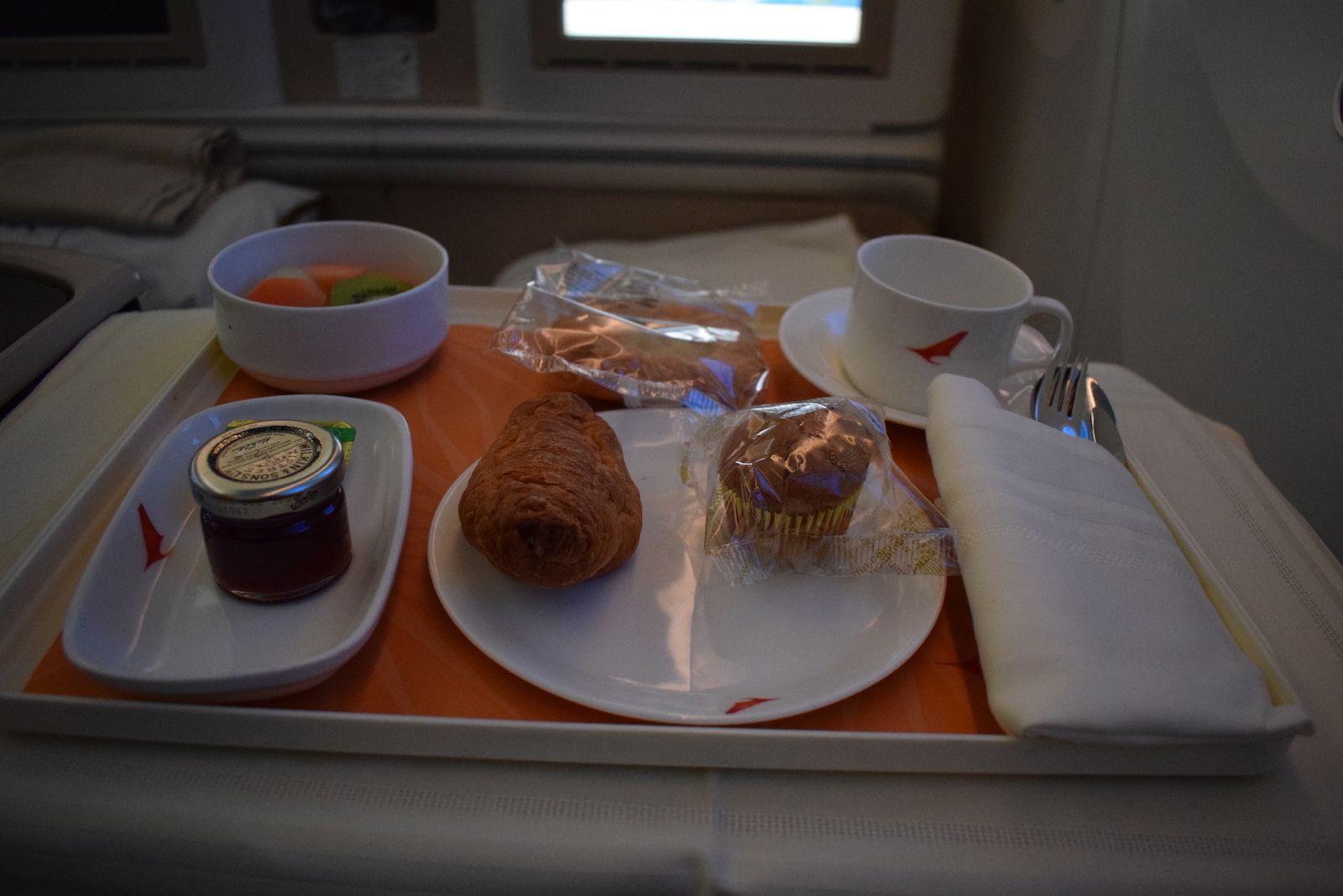 Review Air India 787 Business London Delhi Air india