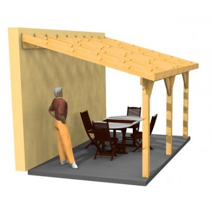 Abris Bois Google Building A Shed House Patio Canopy
