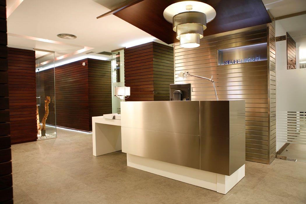 Dise o interior oficina despachos y salas reuniones for Oficina zuzenean bilbao