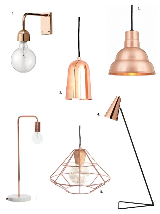 vintage lighting light spotlight beautifulhalo led com copper with tripod lamp p floor