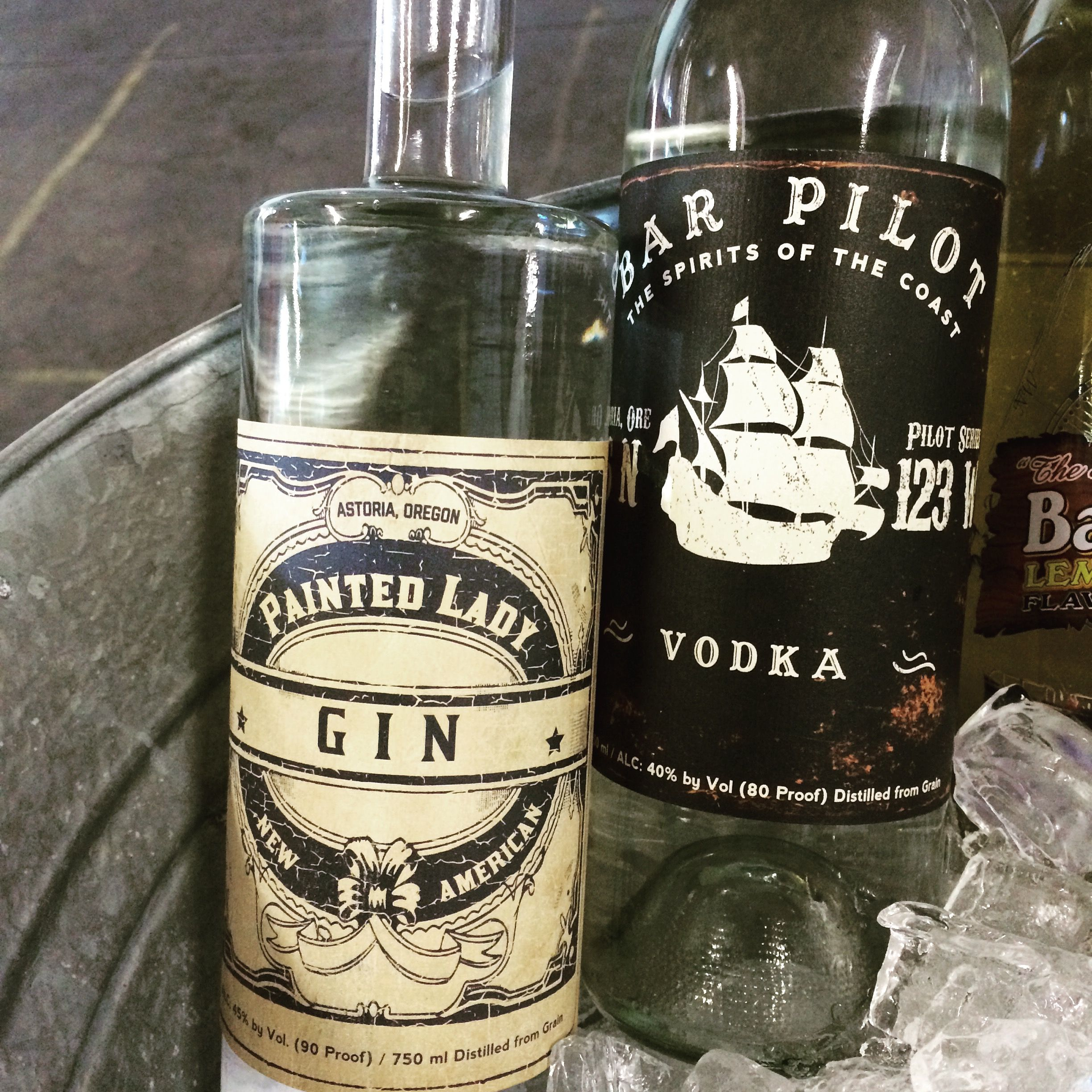New Labels for Painted Lady Gin and Bar Pilot Vodka   Distillery and ...