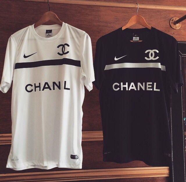 13438f590 Chanel jersey x Nike