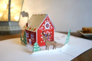 Freebies And Paper Toys Pop Up Christmas Cards Diy Pop Up Cards Diy Pop Up Cards Templates