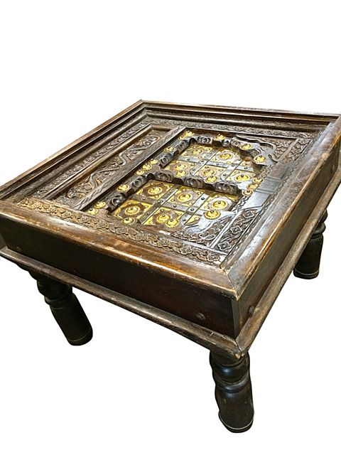Indian Home Furniture Carved Wood Coffee Table Indian Furniture