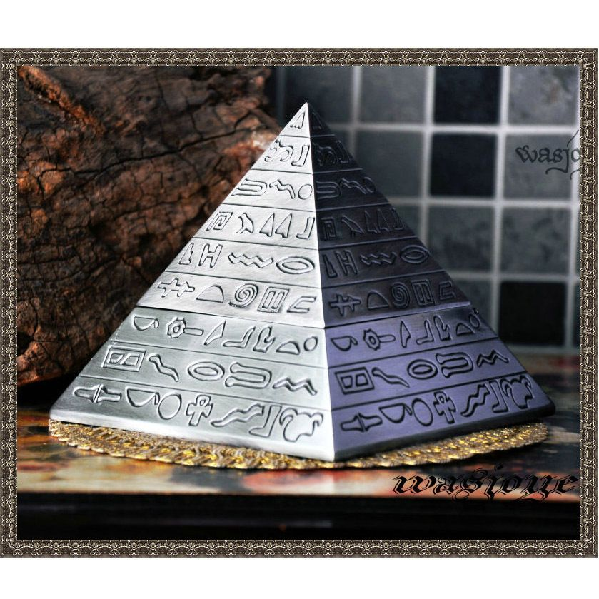 Egyptian magic vintage pyramid pyramid ashtray decoration $36.99