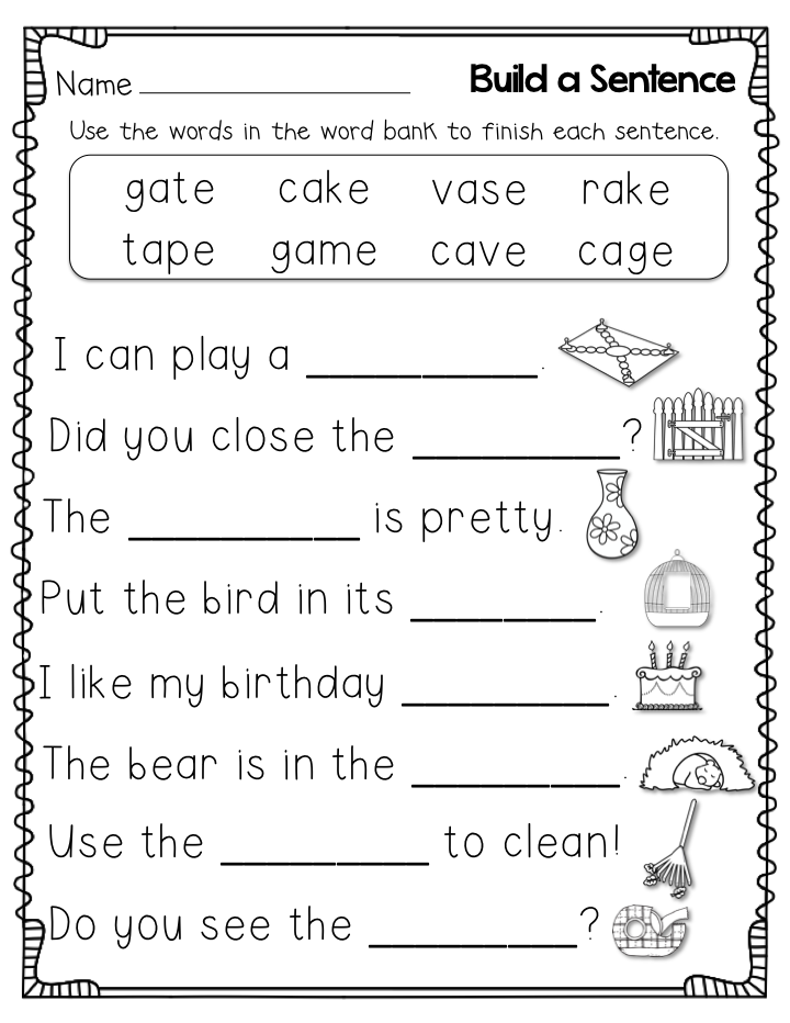 2nd Grade English Worksheets Best Coloring Pages For