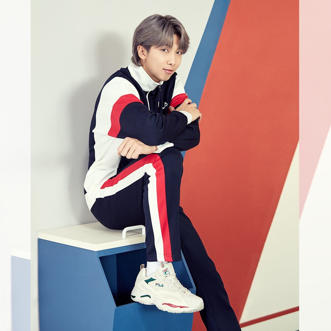 1) FILA (@fila_korea) / Twitter in 2020 | Namjoon, Kim namjoon, Bts bangtan  boy