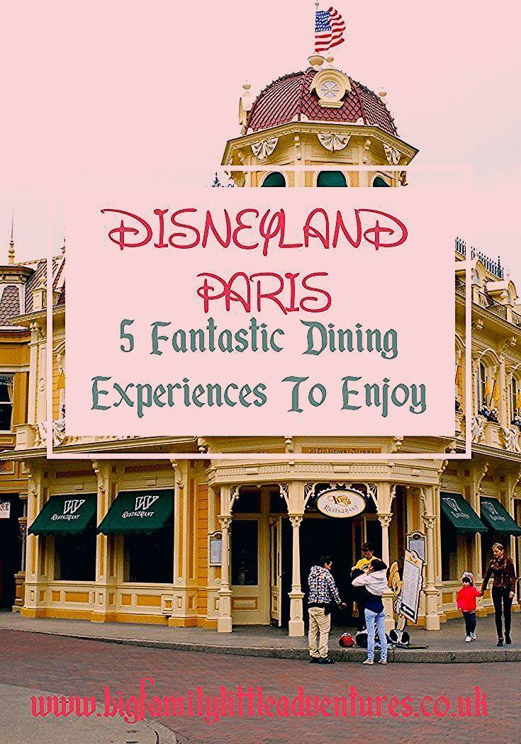 Photo of Essential Disneyland Paris Dining Experiences to Enjoy – Big Family Little Adventures