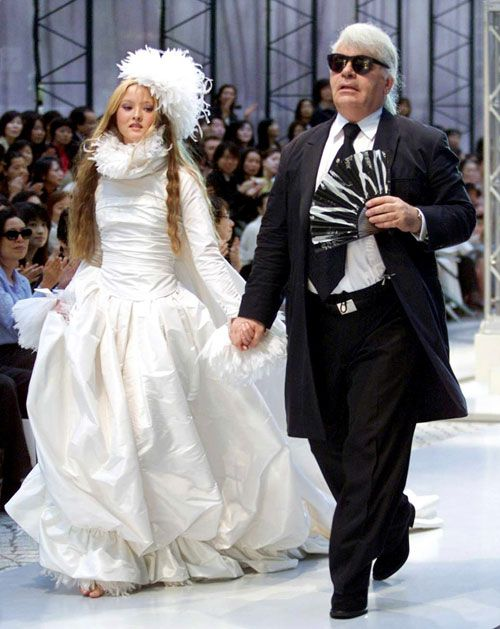 Chanel-Wedding-Gowns-1 | Ugly Wedding Dresses | Pinterest | Chanel ...
