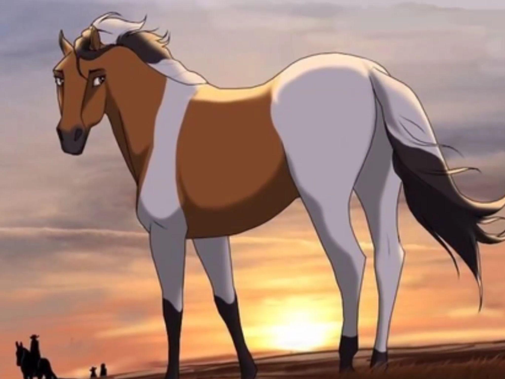 Картинки лошади из аниме
