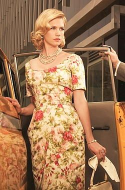 Betty Draper floral