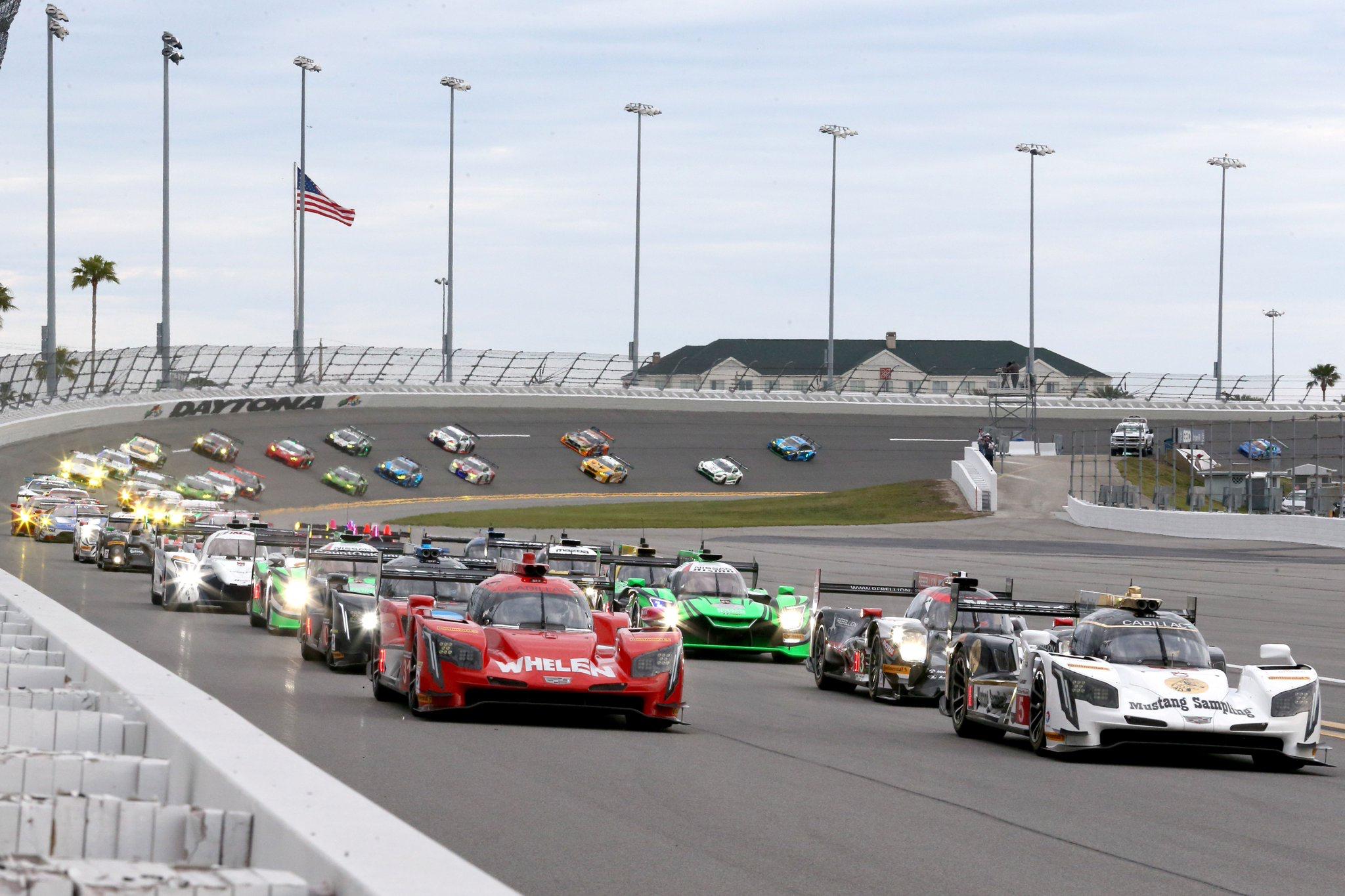 The 2018 Rolex 24 Hours at Daytona is ing IMSA
