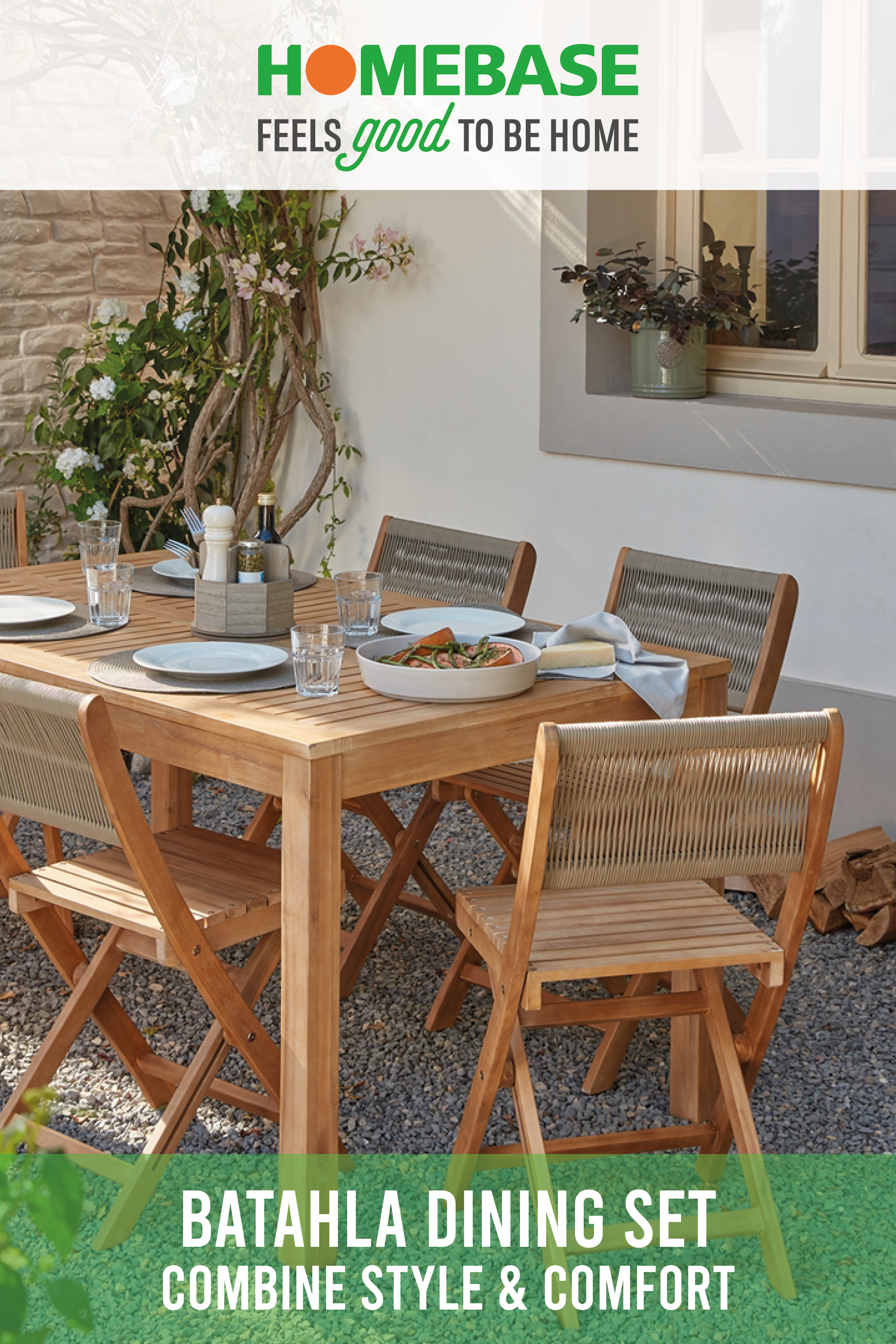 Hartington Batahla Wooden 6 Seater Dining Set In 2020 Dining Set Outdoor Decor Outdoor Tables