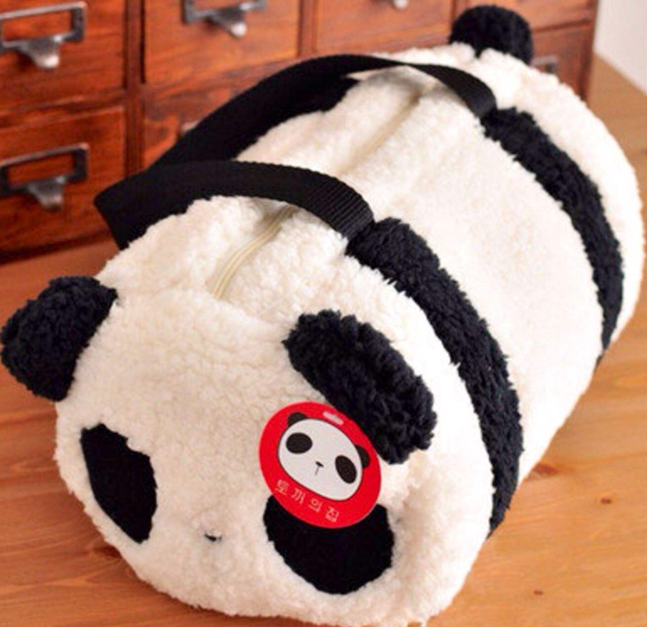 Panda Duffle Bag | Panda | Pinterest