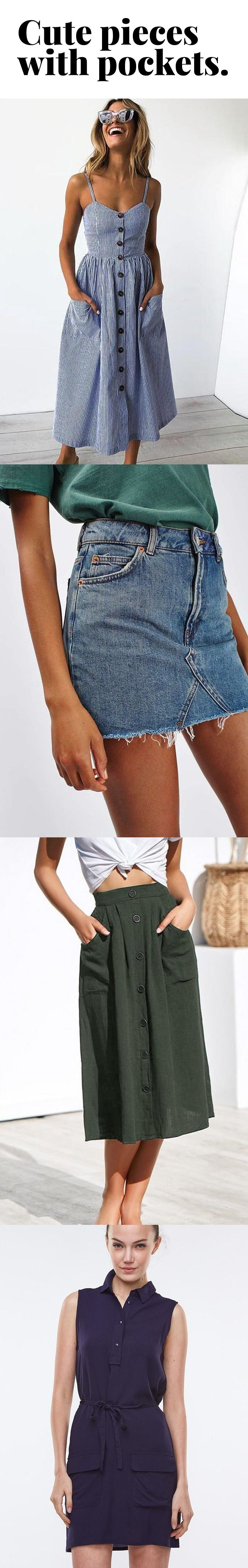 Super-cute pieces with pockets ★★★★★ (5/5) 2