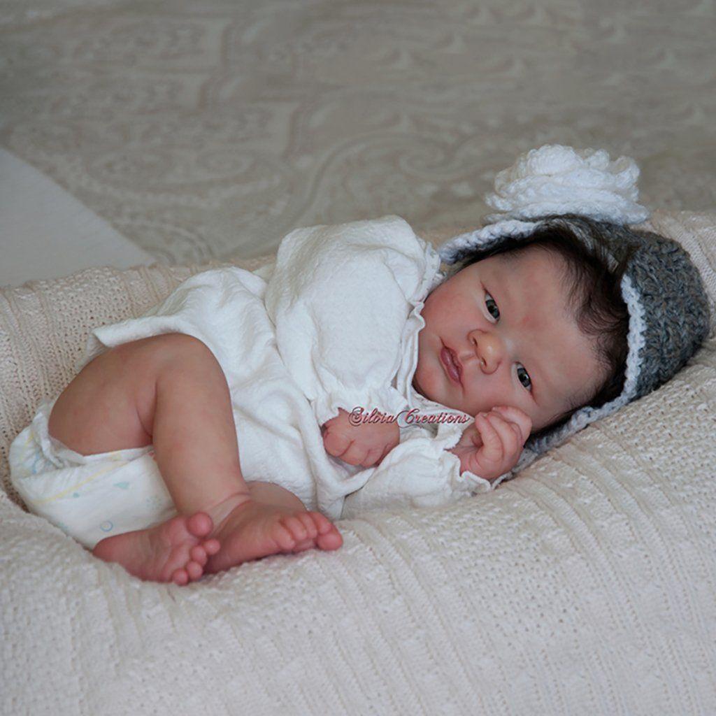 Realborn Lavender Awake 19 Reborn Doll Kit Silicone Reborn Babies Realistic Baby Dolls Silicone Baby Dolls