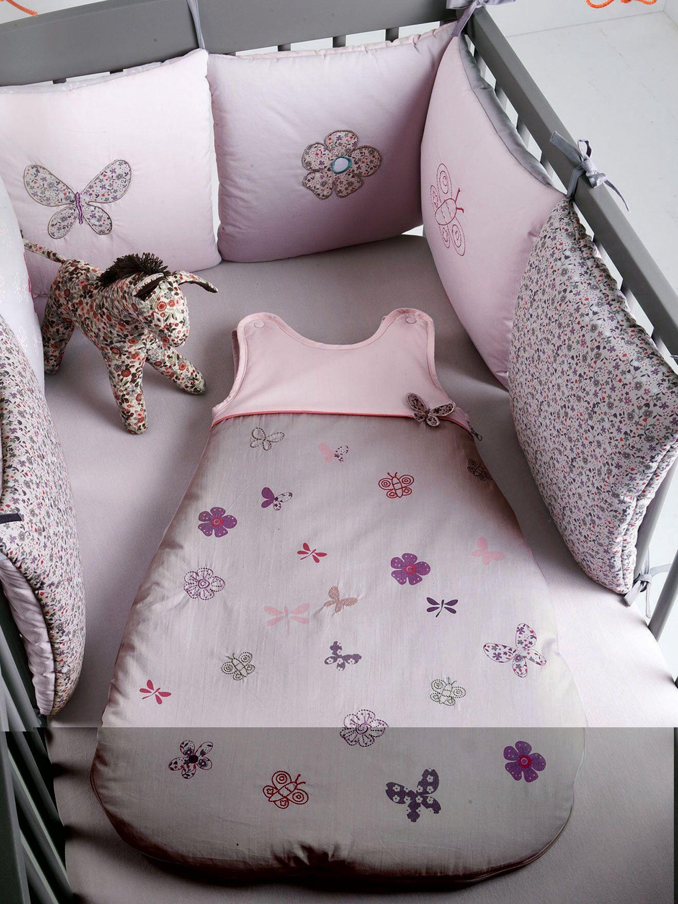 Tour de lit | Lit bebe fille, Lit bebe et Tour de lit bébé