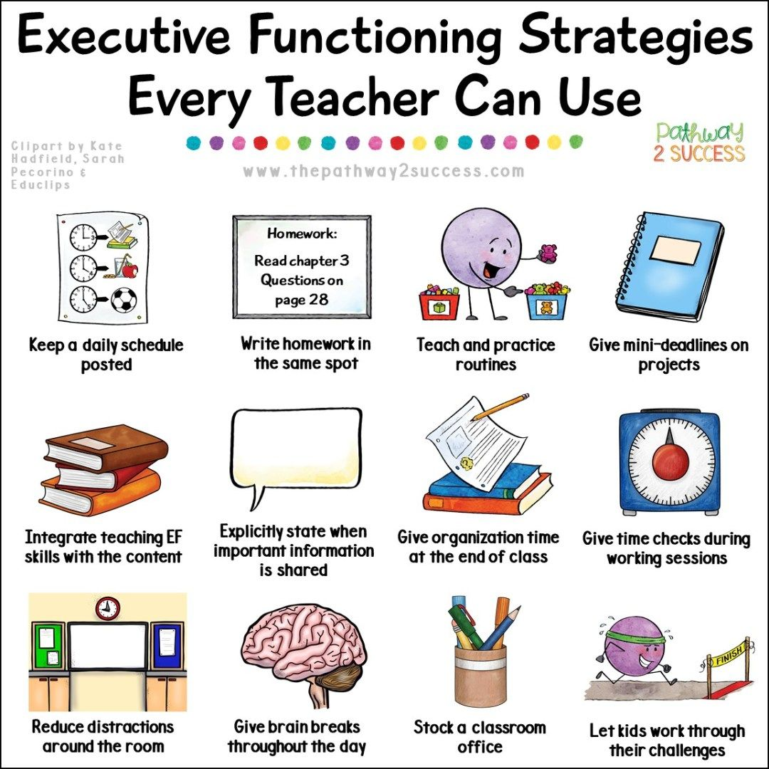 Over 15 Strategies For Executive Functioning That All