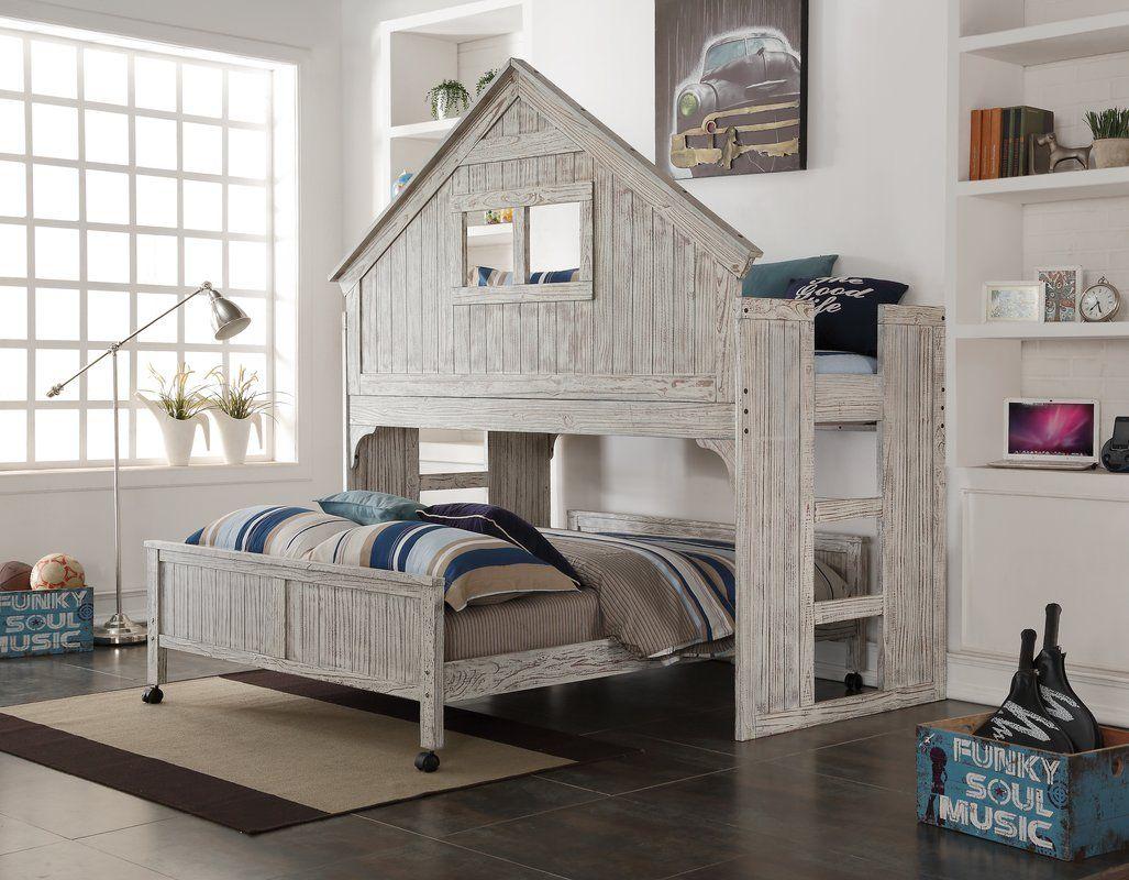Donco Kids Club House Low Loft Bed & Reviews Wayfair