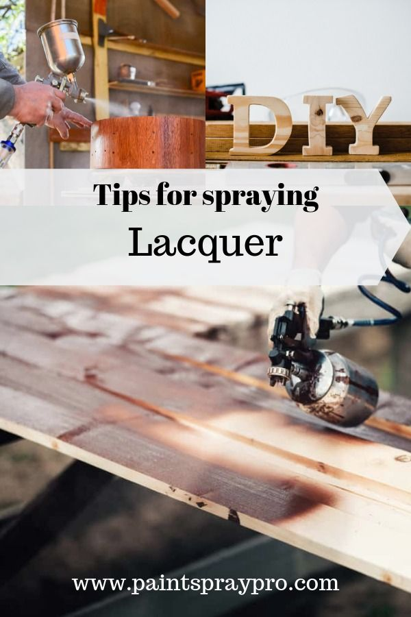 Best Lacquer Sprayer | Spray paint furniture, Best paint ...