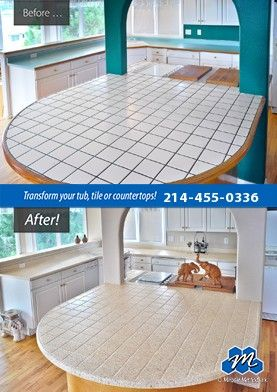 Don T Replace Refinish If You Are Looking For Affordable Countertop Refinishing Solutions In Garland Tx Refinish Countertops Tile Refinishing Countertops