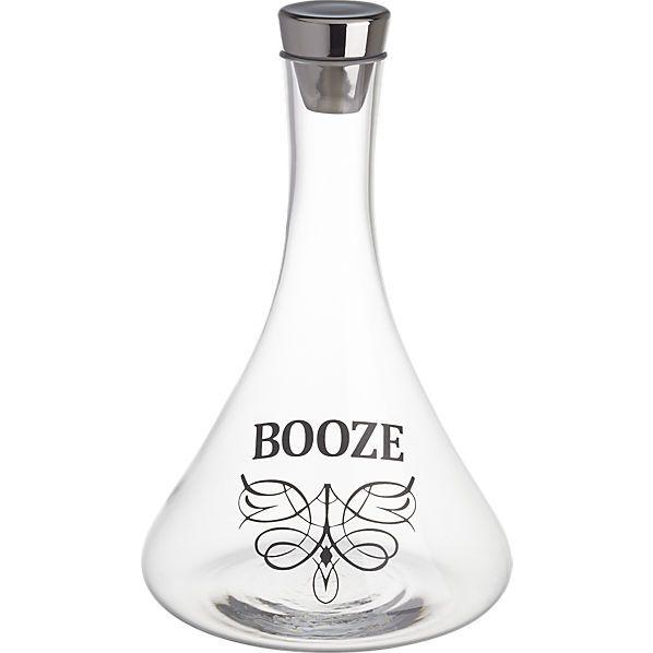 booze decanter  | CB2