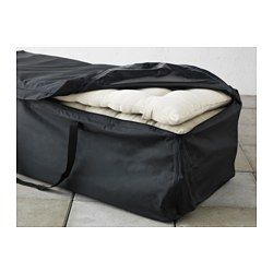 TOSTERÖ Storage Bag For Pads And Cushions, Black. Cushions IkeaPatio ...