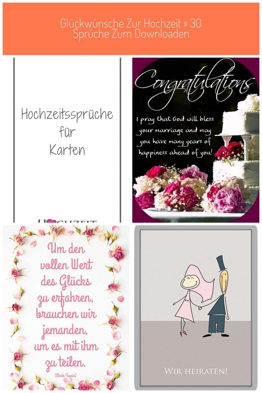 Hochzeitssprüche für Karten: Schickt man einem Brautpaar
