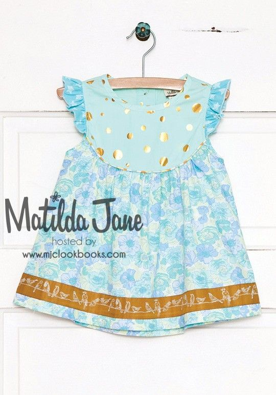 MJC Lines | Mjc LookBooks - All Aflutter Dress (RV $52) 12M - 8 ~ Hello Lovely! (Spring 2015)