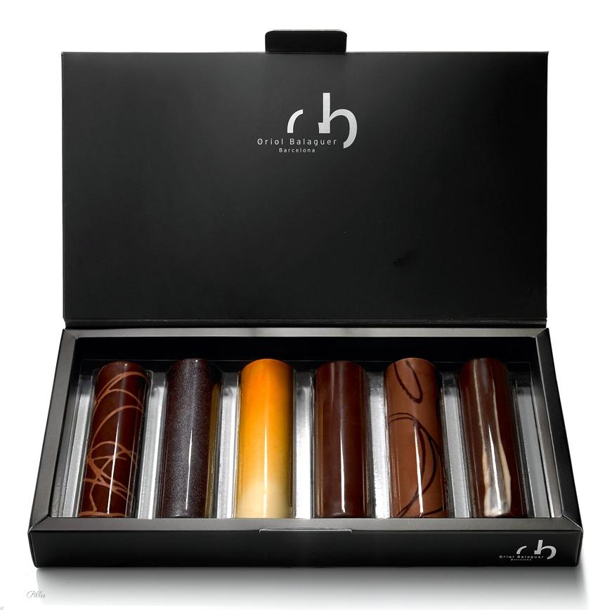 Oriol Balaguer/ Mini Tubes chocolate (Barcelona)