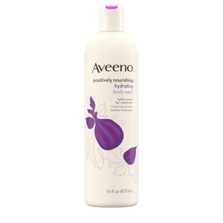 Aveeno Positively Nourishing Body Wash Fig  Shea Butter 16 fl oz  aveeno
