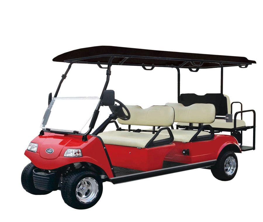 Carrier 6 street legal golf cart carrier golf carts