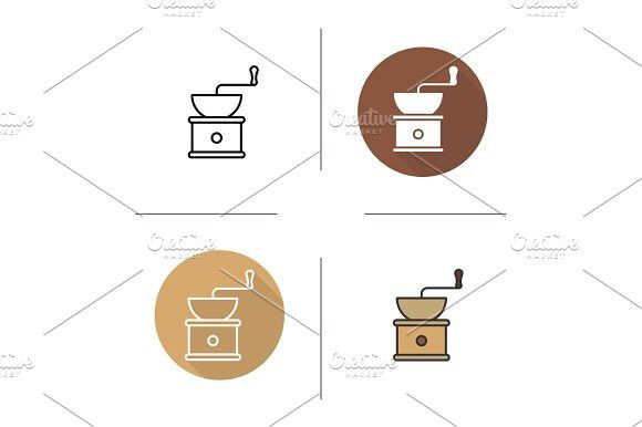 Coffee grinder icon. Best Objects