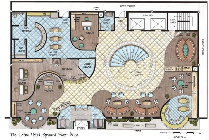 The Lotus Boutique Hotel Design By Allison Carroll At Coroflot Com