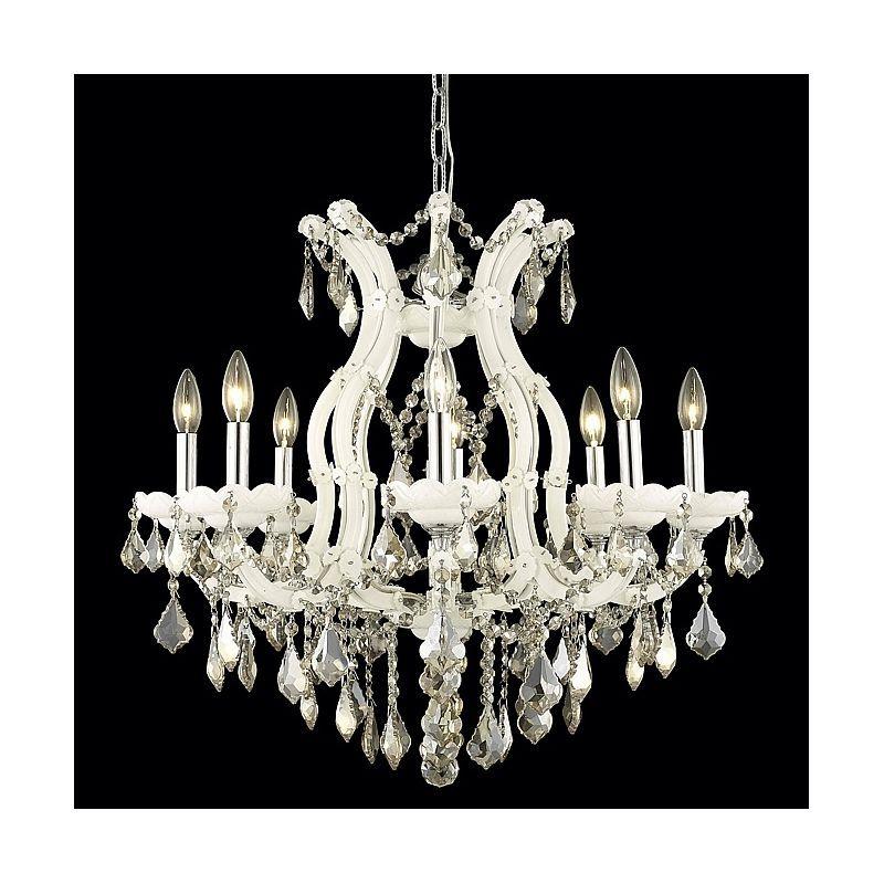 Elegant Lighting 2800d26wh Gt Chandelier Chandelier Lighting