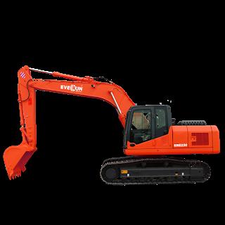 Everun Excavators Ere220 Alat Berat Harga Distributor Excavator Everun In 2020 Excavator Track Roller Emissions