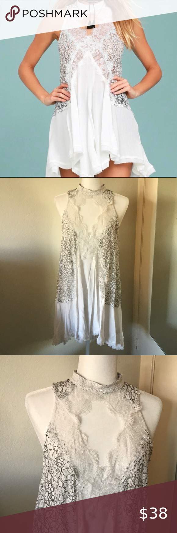 Free People Tell Tale Heart White Lace Slip Dress So Beautiful Worn A Couple Times Excellent Condition Still Looks New Lace Slip Dress Lace Slip White Lace [ 1740 x 580 Pixel ]