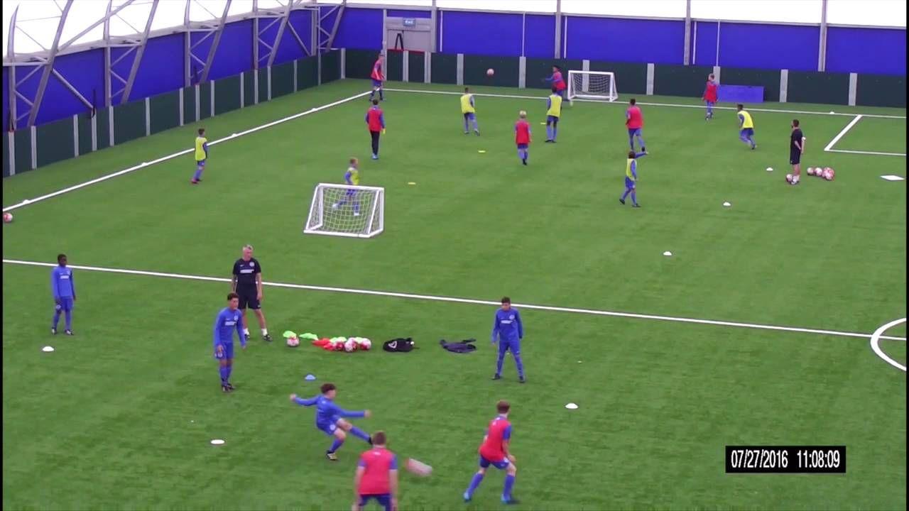 James Baxter Breaking Lines Soccer training drills