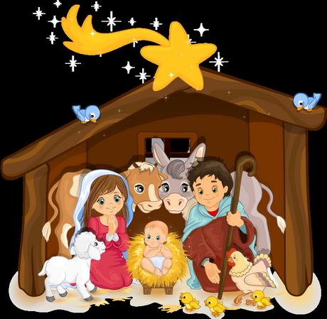 Crêche - Santons - Enfant Jésus - Noël - Render/Tube - Gratuit - Le blog de lemondedesgifs.over-blog.com | Noel, Dessin noel, Clipart noel