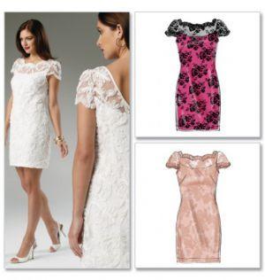 Kleid spitze nahen