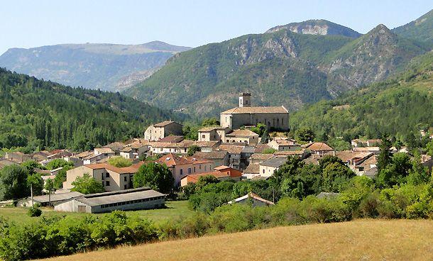 La Motte Chalancon Village Drome Provencale La Garde Adhemar Ville France