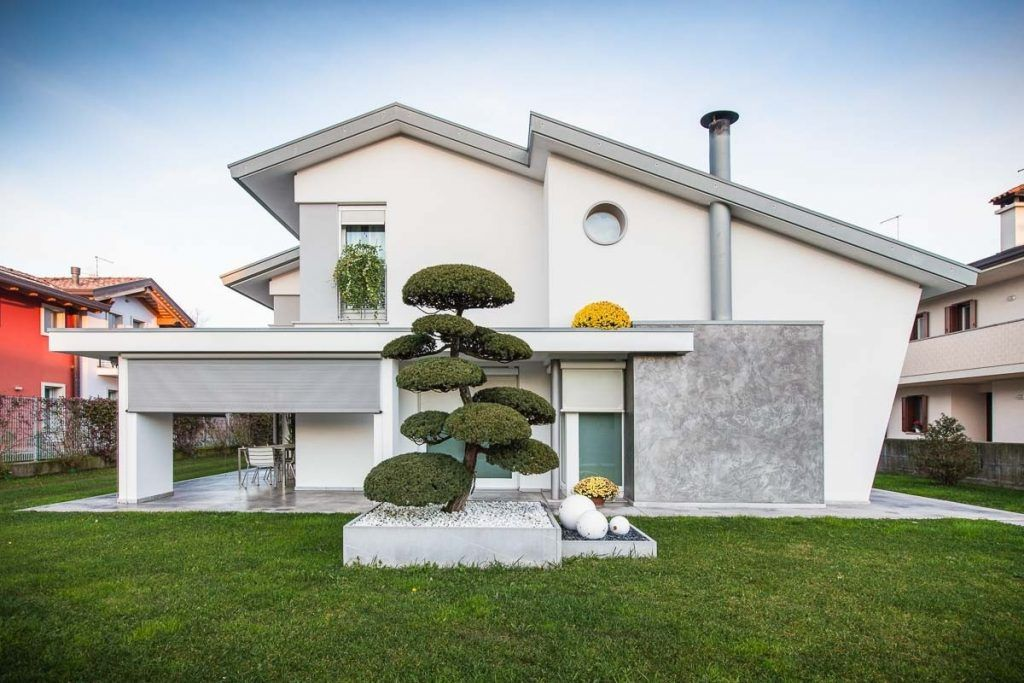 Colore casa esterno grigio con colori per case esterne for Esterni case moderne