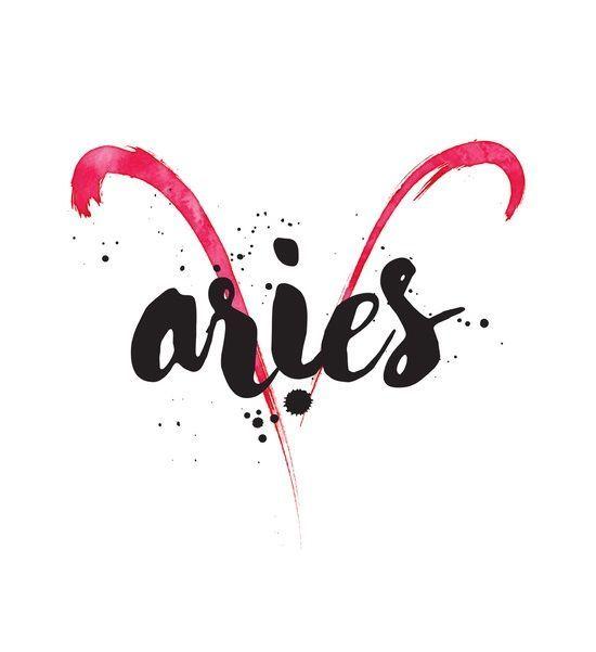 Aries Zodiac Sign Art Horoscope From Tarot Aries Zodiac
