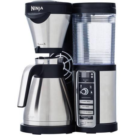 Ninja CF085 Coffee Bar Auto-iQ Brewer with Thermal Carafe